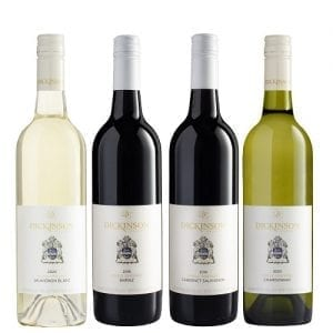 Dickinson Estate Wines - Mixed Dozen - 4 bottle Set - 2020