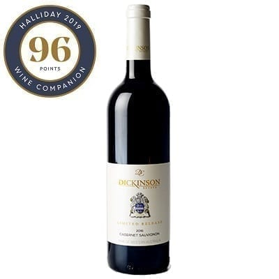 Dickinson Estate Limited Release 2016 Cabernet Sauvignon - With 96 Points James Halliday Medal