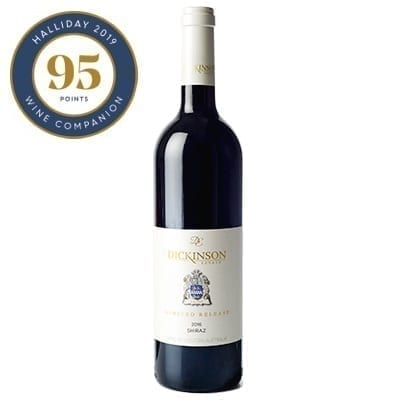 Dickinson Estate Limited Release 2016 Shiraz - 95 Points James Halliday