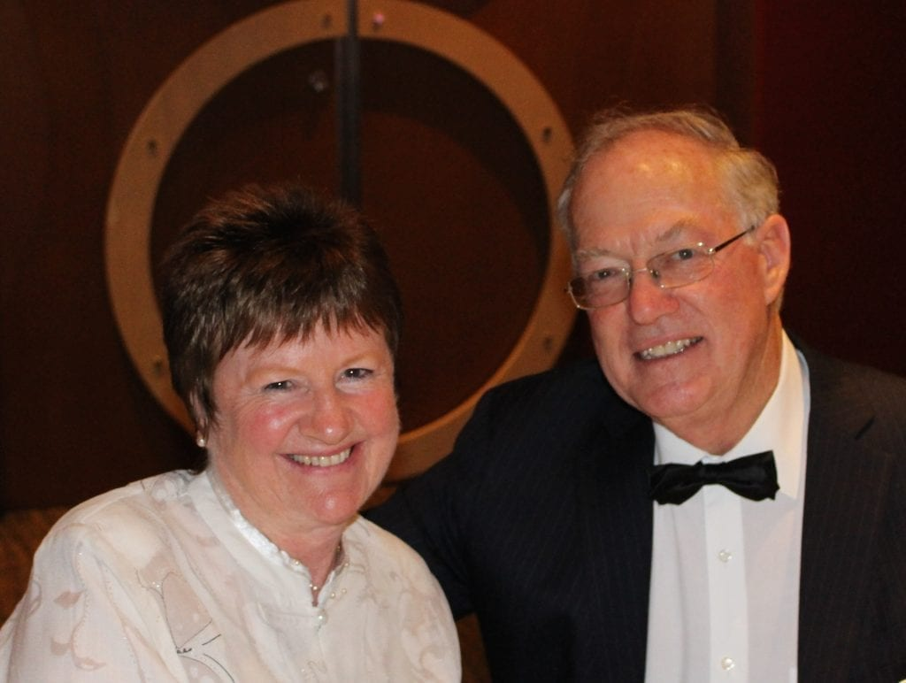 Dickinson Estate Wines - Owners Trevor and Mary Dickinson