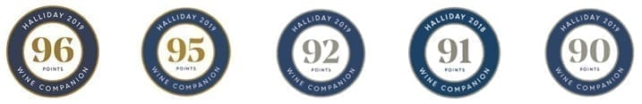Dickinson Estate Wines - Perth WA - James Halliday Awards 96 95 92 91 90 Points